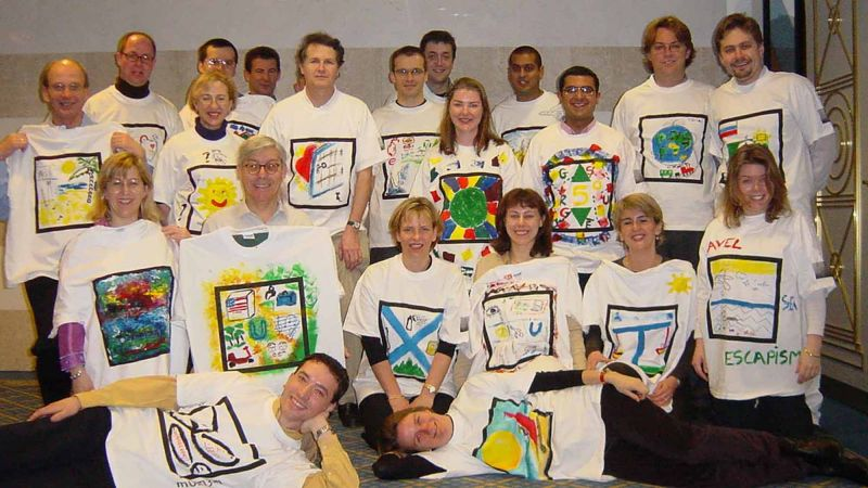 tshirt masterpiece creative team building event