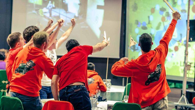 team building fun business game