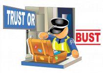 trust or bust logo