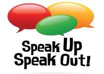 speak up speak out logo