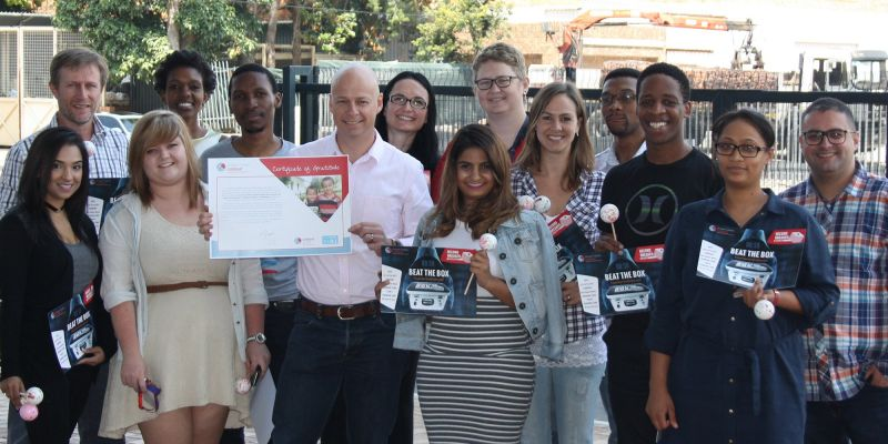 Teams in South Africa smash the Beat the Box World Record - DStv Digital Media