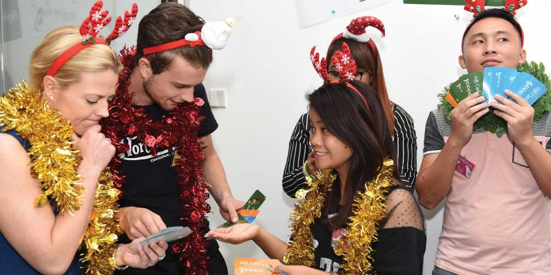 christmas party team activities