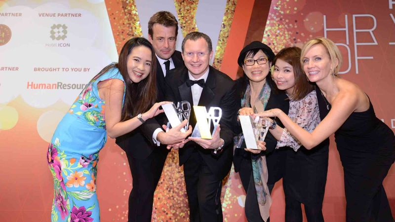 hr awards china team building asia