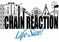 chain reaction lifesize logo